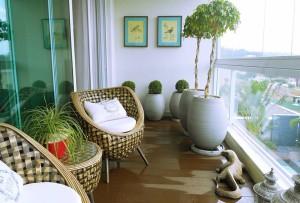 тропический балкон