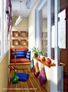 балкон кальянная