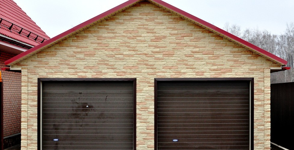 Строительство гаража на дачном участке