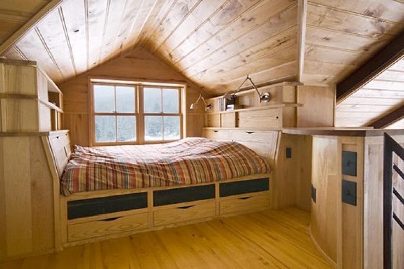 Спальни на чердаке дизайн
