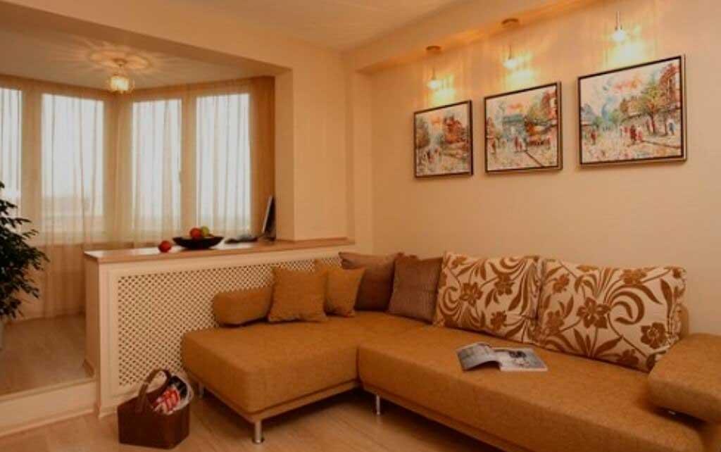 Как увеличить гостиную в малогабаритной квартире?