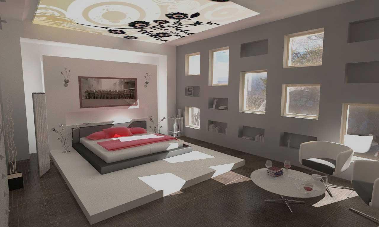 Способы оформления комнаты без окон